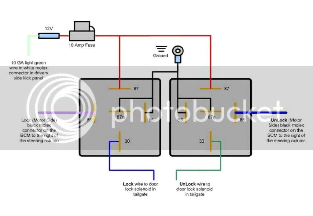 Door Solenoid Wiring Diagram